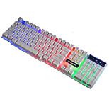 Ruyiniao v-8 Hintergrundbeleuchtung Spieltastatur usb Kabel 104 Tasten Aufhebung keycap