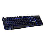 Ruyiniao V-8 Gaming Hintergrundbeleuchtung Tastatur 104 Tasten USB-Kabel 3 Farben