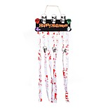 1PC Skeleton Witch Scarecr Halloween Ornaments Skull  Scarlet Decoration Ghost Festival Bar AtmosPhere Dress Up Props