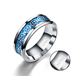 cheap -The new stainless steel ring steel ring are lovely smiling face fresh art Weijie