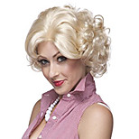 Marilyn Monroe Fashion Curly Wig Cosplay Hair Full Wig Short Blond Holloween Party Hairstyle Natural Wig Heat Resistant Hair