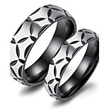 Men's Band Rings AAA Cubic Zirconia Love Fashion Luxury Chrismas Classic Titanium Steel Circle Jewelry For Party Birthday Gift Evening