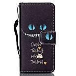 Caso para apple ipod touch 5 touch 6 estojo capa carteira carteira com suporte flip pattern caixa de corpo inteiro gato duro pu couro