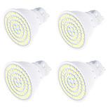 4W GU10 Lâmpadas de Foco de LED MR16 80 SMD 2835 320 lm Branco Quente Branco Frio 3000/6000 K Decorativa V