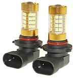 Sencart 2pcs 9006 P20d Flashing Bulb Led Car Tail Turn Reverse Light Bulb Lamps(White/Red/Blue/Warm White) (DC/AC9-16V)