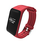 HHY New K1 Real-Time Continuous Dynamic Heart Rate Bracelets Sports Waterproof Step Health Smart Bracelet