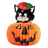 1pc фестиваль украшения Хэллоуин бумаги кулон фонарь преследует дом Джек-о-фонари ведьма череп случайный стиль