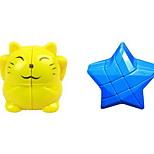 Кубик рубик Спидкуб Избавляет от стресса Кубики-головоломки Пластик Мультяшная тематика Звезда Подарок