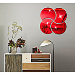 Crescent Sitting Room Bedroom Specular Adornment Wall Stickers