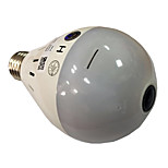 1.3MP HD 960P Bulb Light Wireless IP Camera Wi-fi FishEye 360 Degree CCTV Camera  Security Panoramic