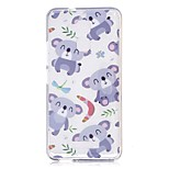 For Xiaomi Redmi Note 4 Note 3 Case Cover Cartoon Bear Pattern Back Cover Soft TPU