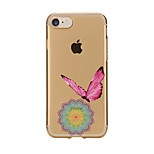 Case For Iphone 7 6 Butterfly TPU Soft Ultra-thin Back Cover Case Cover iPhone 7 PLUS 6 6s Plus SE 5s 5 5C 4S 4