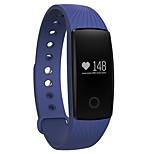 Муж. Жен. Смарт-часы Повседневные часы Цифровой LED Сенсорный дисплей Секундомер Защита от влаги тревога Пульсомер GPS-часы Педометр