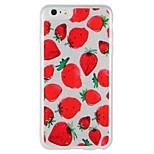 Case for apple iphone 7 plus iphone 7 cover glow in the dark шаблон задняя крышка чехол фрукты блеск сияющий жесткий ПК для iphone 6s плюс