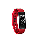 0.96 Inch OLED Smart Bracelet Water Proof Long Standby Calories Burned Pedometers Sports Heart Rate Monitor Anti-lost for Ios Android