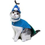 Кошка Костюмы Одежда для собак Косплей Животные Синий