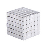 Magnetic cube  Magic Cubes Building Blocks Educational Toys Stress Relief Toy Games Square Cube Magnets Develops Intelligence (5MM Set of 216 Balls)