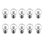 3W E27 Круглые LED лампы G45 24 светодиоды SMD 2835 Тёплый белый Холодный белый 250lm 3500K 220V
