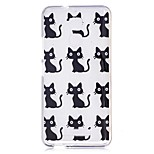 For Xiaomi Redmi Note 4 Note 3 Case Cover Cartoon Cat Pattern Back Cover Soft TPU