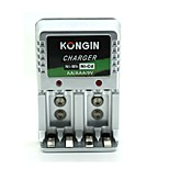 Kongin  AA/AAA/9V  European plug    Ni-mh/Ni-cd
