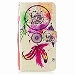 Case for iPhone 7 7 Plus Card Holder Wallet Flip Dream Catcher Pattern Full Body Case Hard PU Leather for iPhone 6 6S 6 Plus 6s Plus 5 5S SE