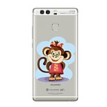 Case for Huawei P8 Lite2017 P10 Cover Transparent Case Monkey Soft TPU for P10 Lite P10 Plus P9 Plus P9 Lite P9 P8 Lite P8 Mate9 Pro Mate9 Mate8
