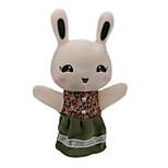 Peluches Poupées Jouet Educatif Marionnette de Doigt Jouets Rabbit Ours Tiger Animaux Enfant Pièces
