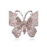 Women's Brooches Adorable Simple Style Alloy Animal Shape Butterfly Jewelry For Party Daily