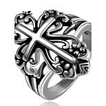 Муж. Классические кольца Бижутерия Панк Нержавеющая сталь Крестообразной формы Бижутерия Назначение Повседневные Для вечеринок