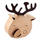 Music Box Wind-up Toy Toys Deer Crystal Wood Pieces Unisex Birthday Valentine's Day Gift