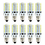 BRELONG Dimmable E11 E12 E14 E17 4W 80x3014SMD 360LM Warm White/White Light LED Corn Bulb AC 110V/220V 10pcs