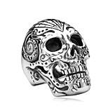 Муж. Бижутерия Мода Rock Нержавеющая сталь Титановая сталь В форме черепа Бижутерия Бижутерия Назначение Halloween Повседневные