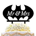 акриловая вставка для торта batman cake insert mr&Г-жа
