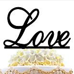 акриловые торт вставки день рождения свадьбы поставок любовь торт карты