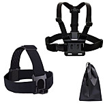 Chest Harness Straps Portable Adjustable Fit For All Gopro Outdoor Traveling