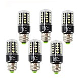 6PCS 3.5 E27 LED Corn Lights T 28 leds SMD 5736 Decorative Warm White Cold White 400lm 2700-6000K AC85-265V