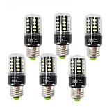 3.5 E27 LED Corn Lights T 28 SMD 5736 400 lm Warm White Cold White 2700-6000 K Decorative AC85-265 V 6PCS