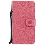 per il portafoglio del portacarta di copertura del caso con il modello di vibrazione del basamento caso di cuoio del cuoio duro per il lg