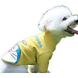 Dog Sweatshirt Dog Clothes Casual/Daily British Blushing Pink Yellow Gray