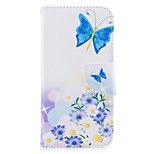 For iPhone X iPhone 8 Case Cover Wallet Card Holder with Stand Pouch Bag Case Butterfly Hard PU Leather for Apple iPhone X iPhone 8 Plus