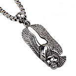 Men's Statement Necklaces Jewelry Skull Eagle Alloy Punk Simple Style Jewelry For Gift Casual Going out