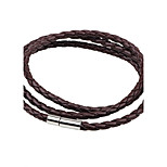 Men's Women's Leather Bracelet Fashion Simple Style Leather Round Jewelry For Casual Going out