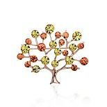 Жен. Броши Шарф пряжки Мода Bling Bling Стразы Сплав Дерево жизни Бижутерия Назначение Для сцены На выход