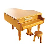 Music Box Toys Piano Musical Instruments Wood Pieces Unisex Birthday Valentine's Day Gift