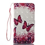 Case For Apple iPhone 7 Plus 7 Case Cover Card Holder Wallet with Stand Flip Pattern Full Body Case Butterfly Hard PU Leather iPhone 6s 6plus 5s se