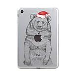 Per iPad (2017) Custodie cover Transparente Fantasia/disegno Custodia posteriore Custodia Transparente Natale Morbido TPU per Apple iPad