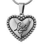 Women's Pendants Jewelry Heart Love Stainless Steel Fashion Inspirational Adorable Jewelry For Wedding Party Halloween Daily Casual Sports