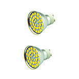 2 pcs 5W LED Spotlight 55 leds SMD 5730 Decorative Warm White Cold White 800lm 3000-7000K AC 12V