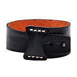 Men's Women's Leather Bracelet Fashion Adjustable Leather Round Jewelry For Casual Going out