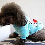 Собака Толстовка Одежда для собак На каждый день Носки детские Синий Розовый